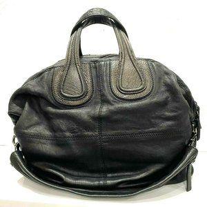Givenchy Large Nightingale Black/Bronze Satchel